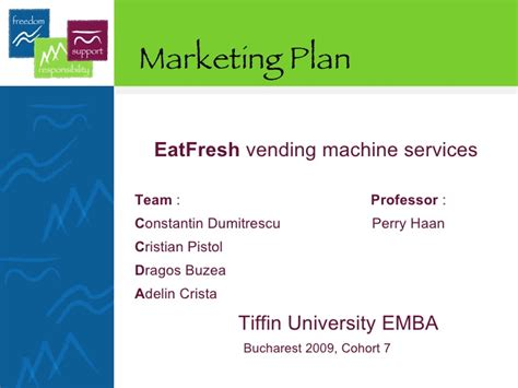 vending machine business plan template eat fresh vending machine marketing plan