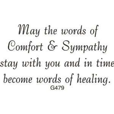 words of comfort sympathy sayings sympathy wording on popscreen