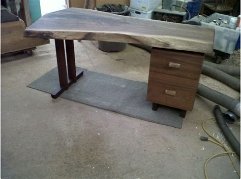 live edge computer desk furniture for sale live edge walnut desk artsyhome
