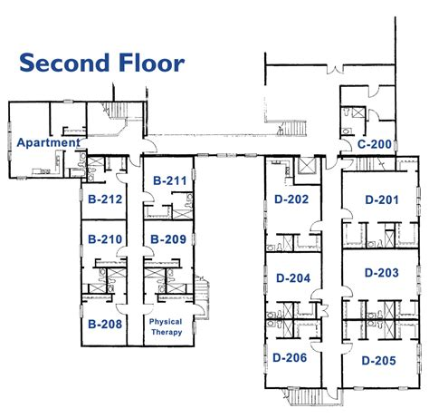 nursing home floor plans home interior design