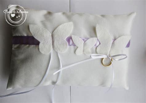 cuscini per le fedi cuscino per le fedi feste matrimonio di lo shop di