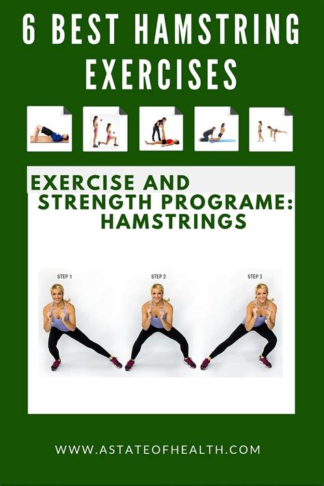 Top 7 Most Effective Exercises by 25 Best Ideas About Best Hamstring Exercises On
