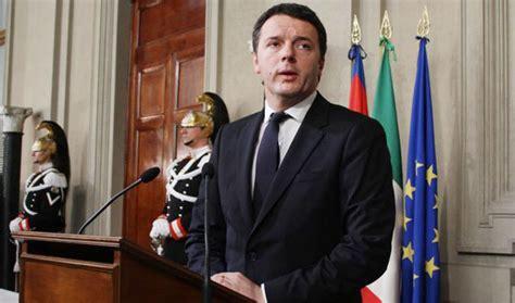 presidenti consiglio dei ministri matteo renzi partenza frenata dal presidente napolitano