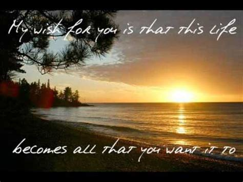 My Wish by Rascal Flatts My Wish Lyrics On Screen