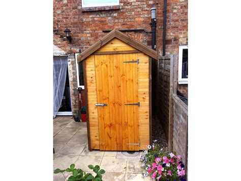 4x4 Shed by Kiala 5x5 Outdoor Shed