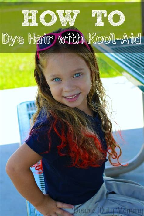 how to color hair with kool aid how to dye hair with koolaid mix hair and