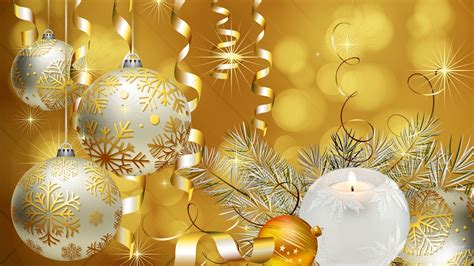 gold christmas background wallpaper