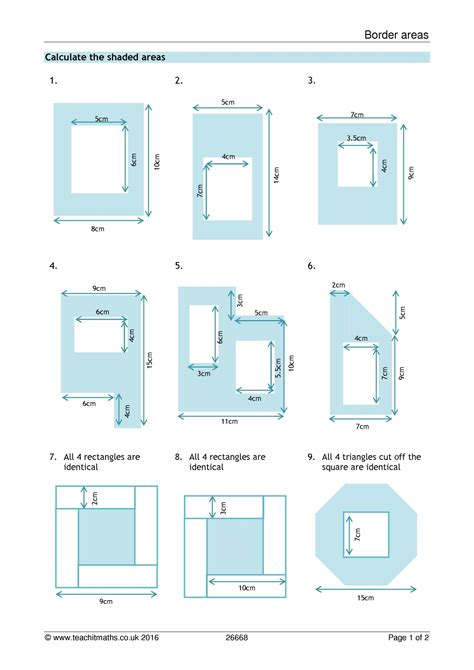 shapes worksheets ks3 area and perimeter of compound shapes worksheet ixiplay