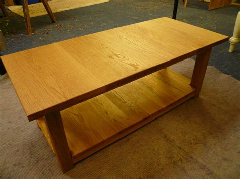 Table Handmade - handmade oak coffee table quercus furniture
