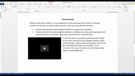 How To Embed A Word Document Into Word