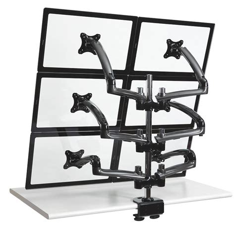 6 monitor desk mount product