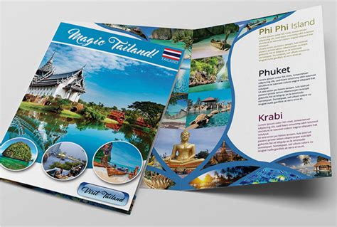 8 free cruise brochure templates bates on design