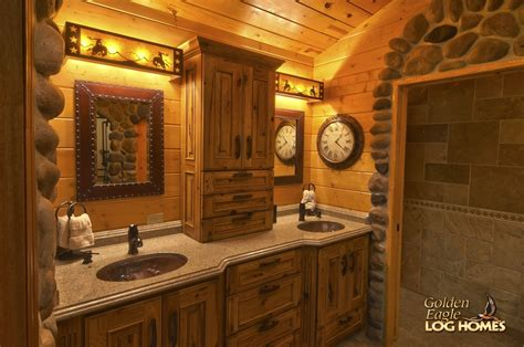 log cabin bathrooms log cabin master bathrooms www pixshark com images