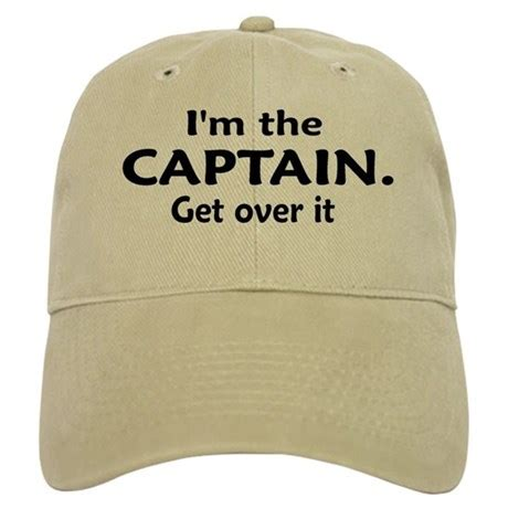 i m the captain baseball hat by reelgifts