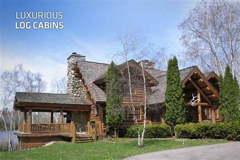 log cabin luxury homes luxurious log cabins
