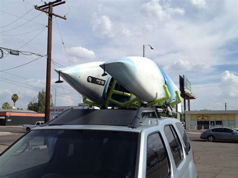 pvc kayak roof rack carrier do it yourself