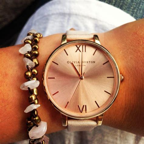Burton Ol013 Rosegold D burton and quartz bracelet jewellry