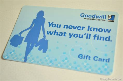 Goodwill Gift Card - celebrating 100 posts a giveaway