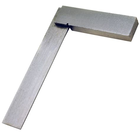 Square Set 4 quot 100mm engineers square set square right angle edge te423 ebay