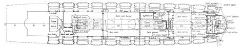 queen mary floor plan dirty 30s rms queen mary