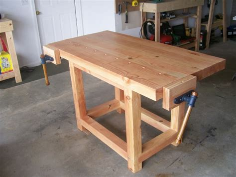 how to make a wooden work bench wood work bench treenovation
