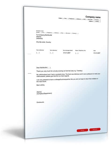 Vorlagen Musterbrief danksagung einladung vorlage zum