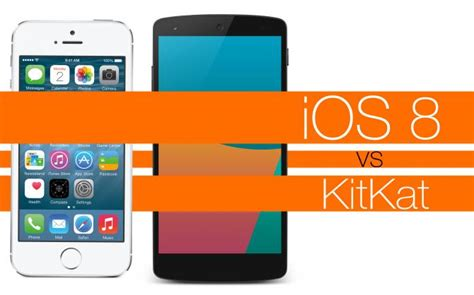 android lollipop vs android kitkat new features apple ios 8 vs android 5 lollipop vs android 4 4 kitkat