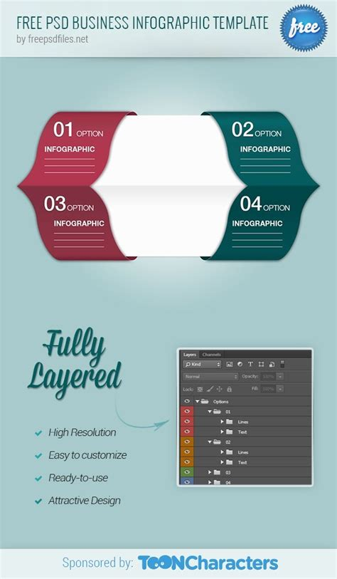 Free Psd Business Infographic Template Free Psd Files Infographic Template Psd