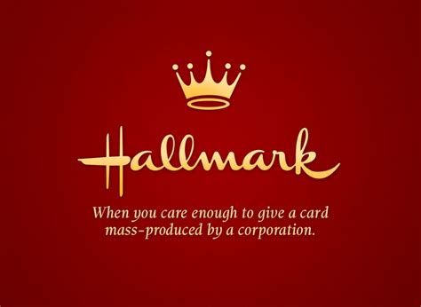 Greeting Cards When You Care Enough To Send The Best by Hallmark Honest Advertising Slogan Creative Ads And More
