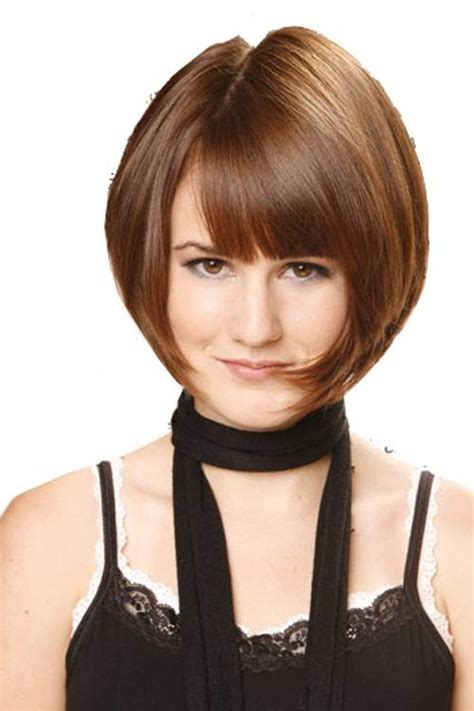 long wedge bob with bangs best short wedge haircuts