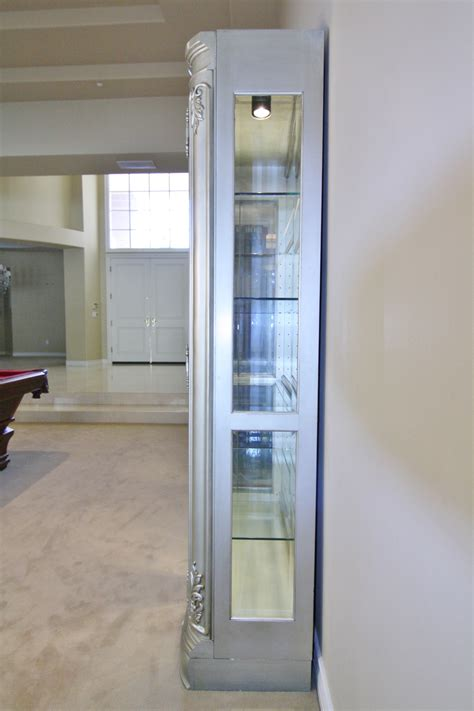 glass curio cabinets with lights sold thomasville curio cabinet lighted glass cabinet