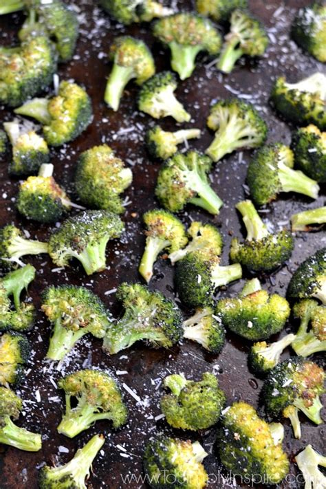 recipe garlicky roasted broccoli quick side dish garlic parmesan roasted broccoli to simply inspire