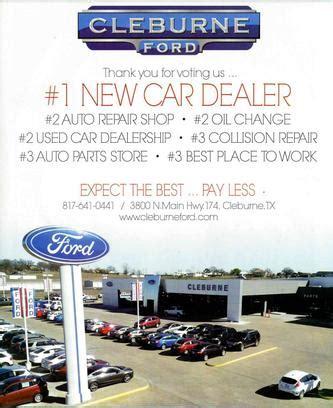 Cleburne Ford by Cleburne Ford Cleburne Tx 76033 7797 Car Dealership
