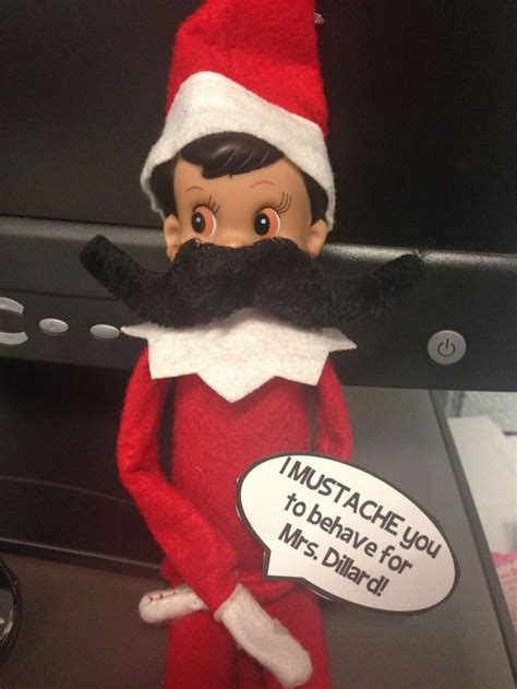 elf on the shelf printable mustache 82 best elf on my classroom shelf images on pinterest