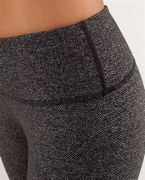 lemon pattern leggings lululemon herringbone leggings get out get active