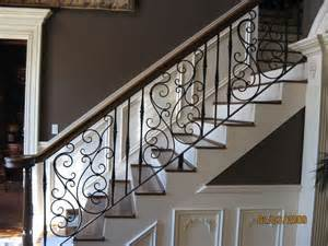 Metal Banister 17 Best Ideas About Wrought Iron Stairs On Pinterest