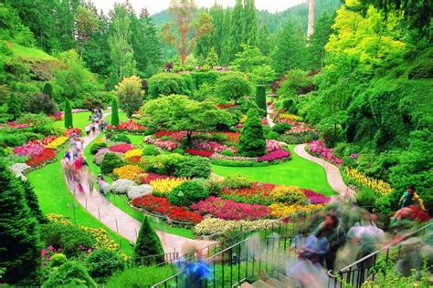Butchard Gardens by Top World Travel Destinations Butchart Gardens Canada