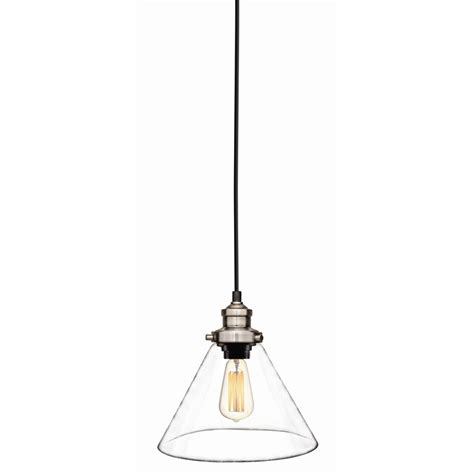 brilliant 240v 23cm clear paige light pendant bunnings