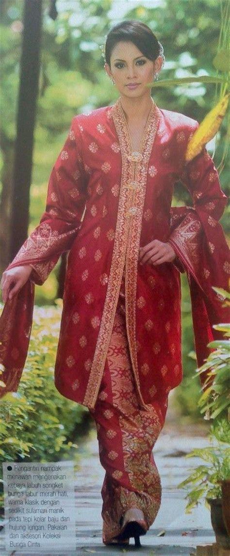 Kutu Songket model baju kebaya songket muslim holidays oo