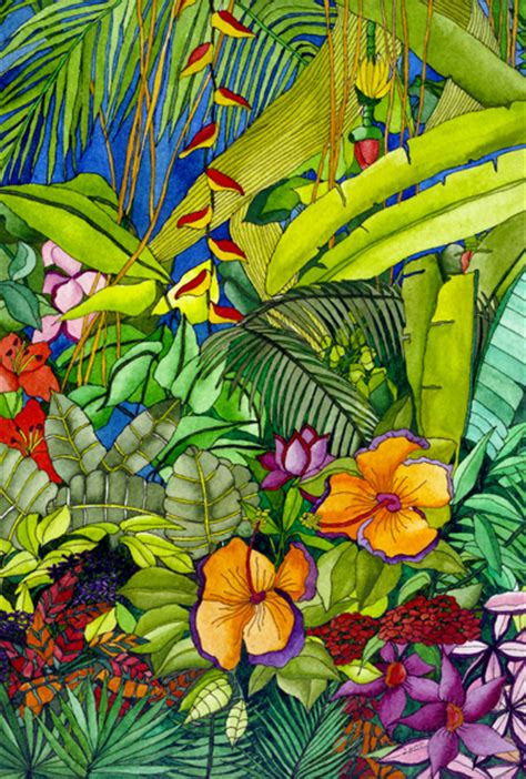 tropical immersion ruth daniels artist gallery