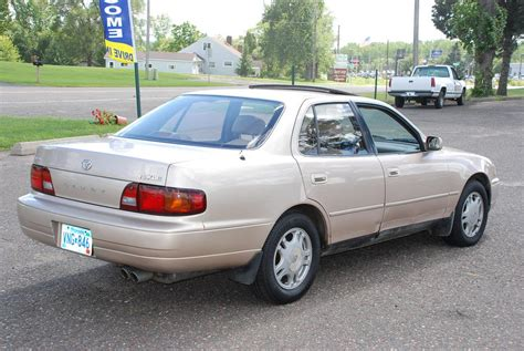 1995 Toyota Camry Parts 1995 Toyota Camry 4dr Sedan Xle Auto V6 183000 Gold