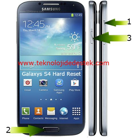 reset android galaxy s4 samsung i9500 galaxy s4 hard reset android destek