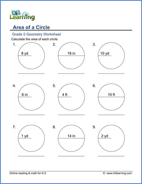 Area Of A Circle Worksheet by Finding The Area Of A Circle Worksheet Photos Getadating