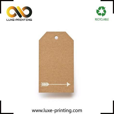 printable kraft paper hang tags toabao kraft paper printable die cut hangtag five pointed
