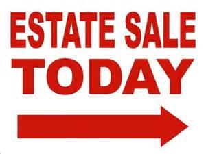 Estate Sales Auction Sale Directionals Asap Signs Design Llc