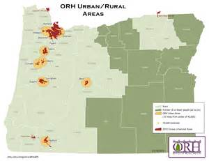 oregon population density map orh maps oregon office of rural health ohsu