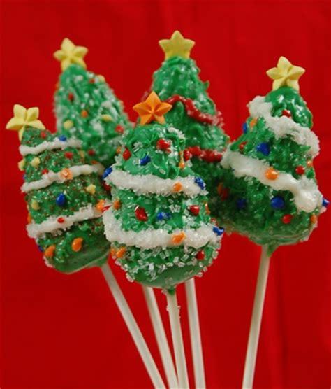 cake pops christmas tree ea
