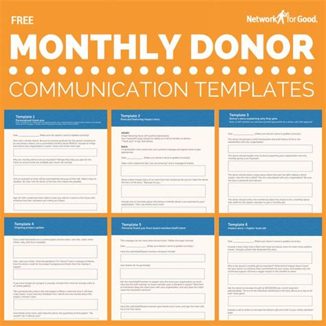 nonprofit communications plan template donor communication plan template templates data