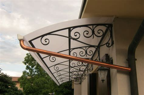tettoie in ferro battuto e vetro tettoie e pensiline in metallo a treviso cadorin