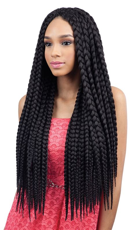 box braids with 2 packs of hair jumbo box braids amazing long term protective style